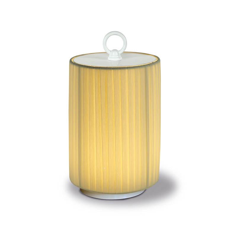 Creponne Avorio fabric lampshade