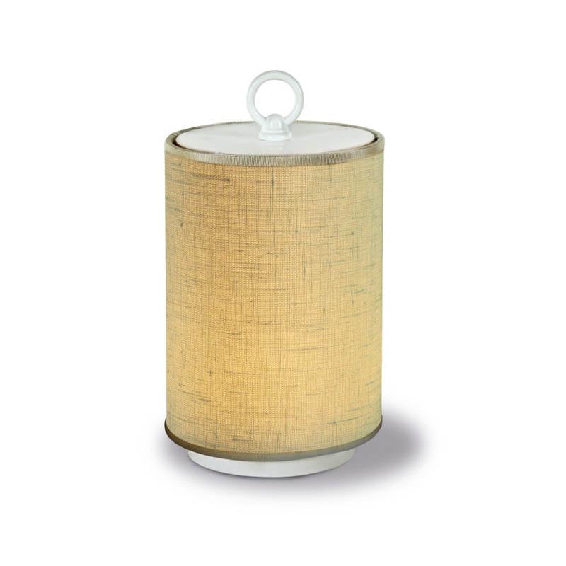 Lino Avoriofabric lampshade