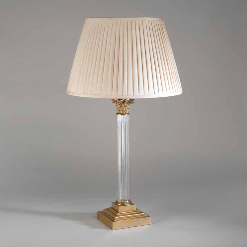 Lampshade: colour - Cream ; material - Silk