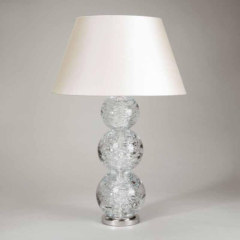 Lampshade: colour - Cream ; material - Silk