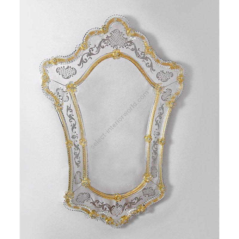Buy Glass Glass Murano Murano Wall Mirror Art Mir 300 Online Price Start From 3 105 00
