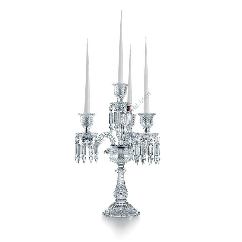 "4 candlesticks (cm.: H 57 x W 40 / inch.: 22.4"" x 15.7"")"