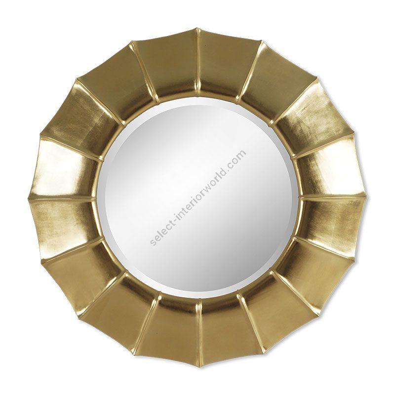 "21st C. Gold finish / Bevel glass type / cm.: 116 x 116 x 9 / inch.: 45.67"" x 45.67"" x 3.54"""