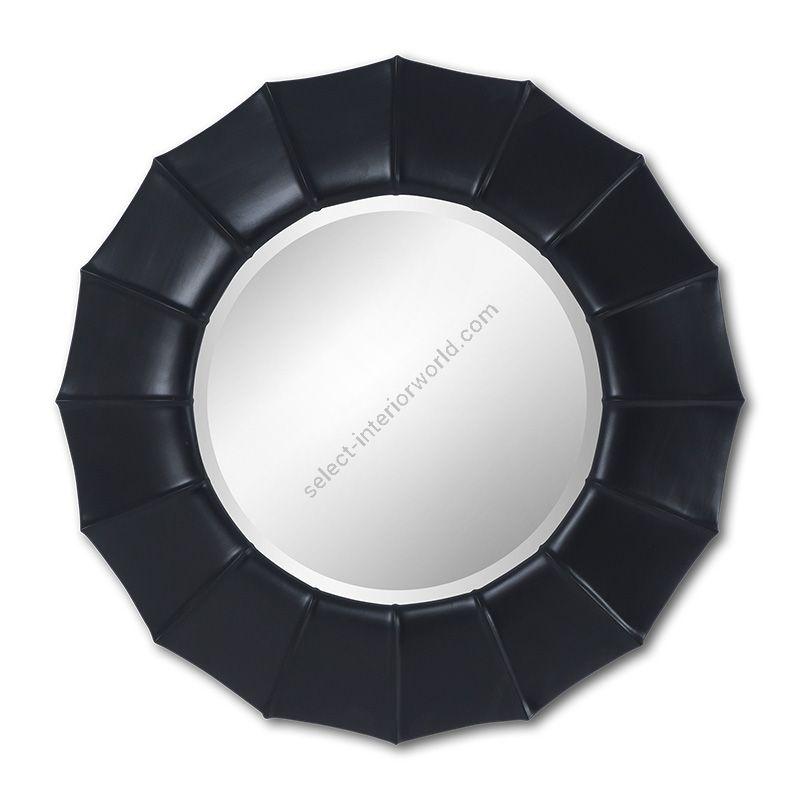 "Black Satin finish / Bevel glass type / cm.: 116 x 116 x 9 / inch.: 45.67"" x 45.67"" x 3.54"""