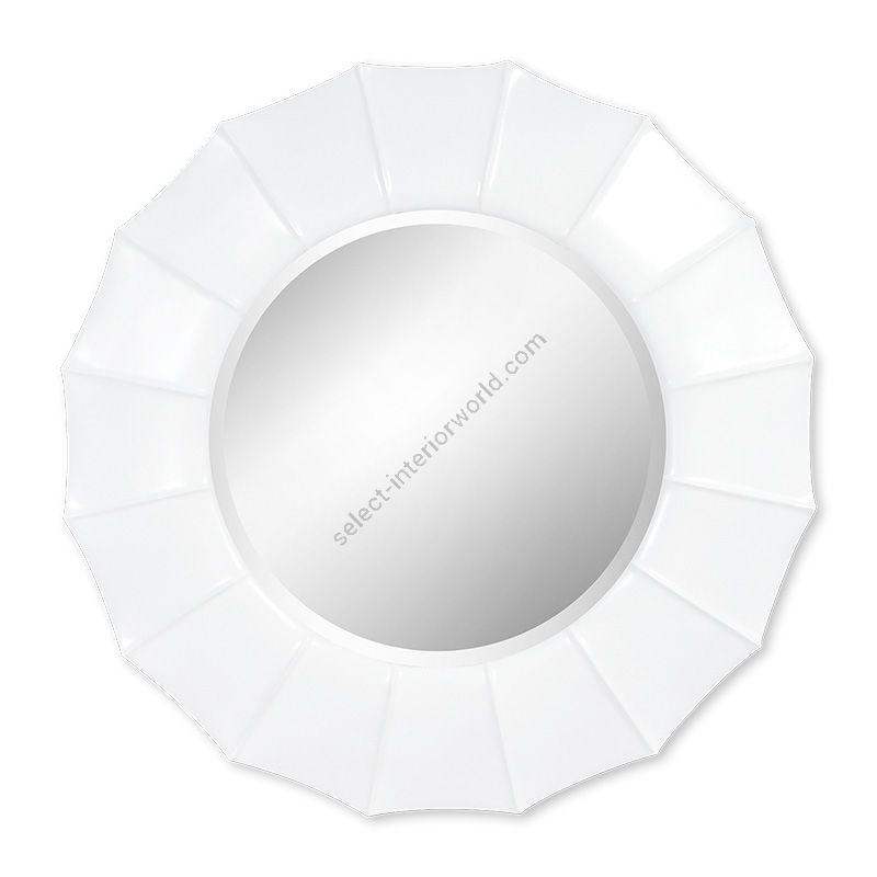 "White Satin finish / Bevel glass type / cm.: 116 x 116 x 9 / inch.: 45.67"" x 45.67"" x 3.54"""
