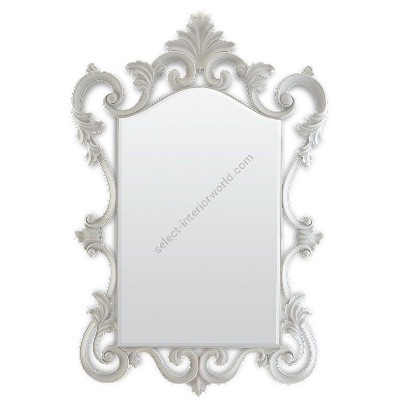 French White finish, Bevel glass type