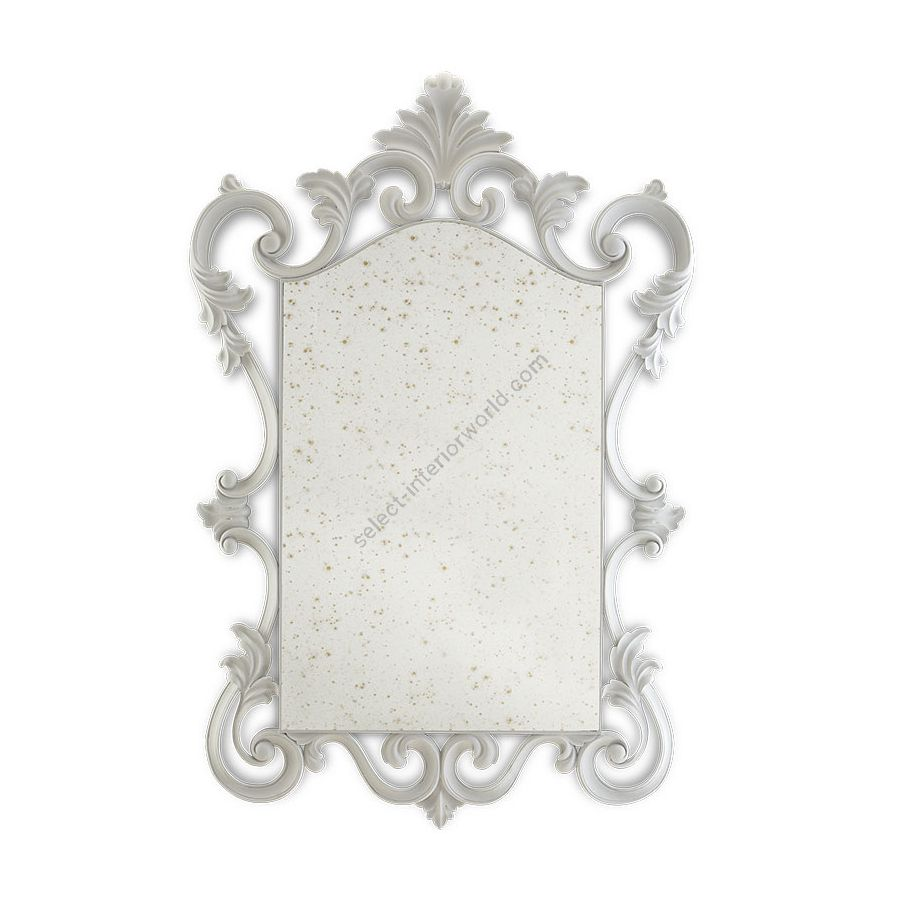 French White finish, Antique glass type