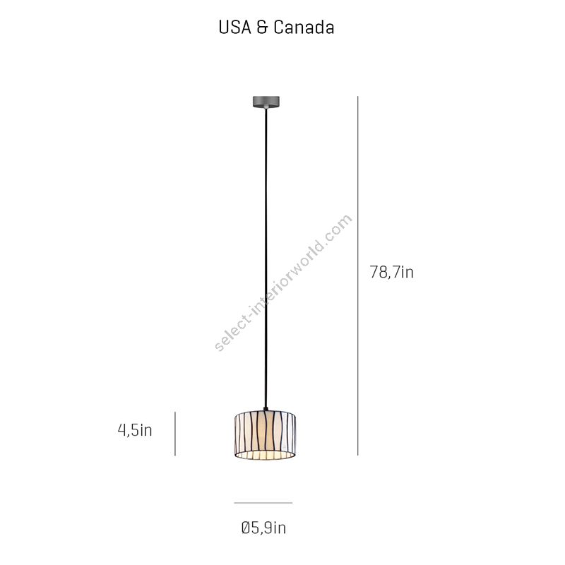 Dimensions for USA & Canada
