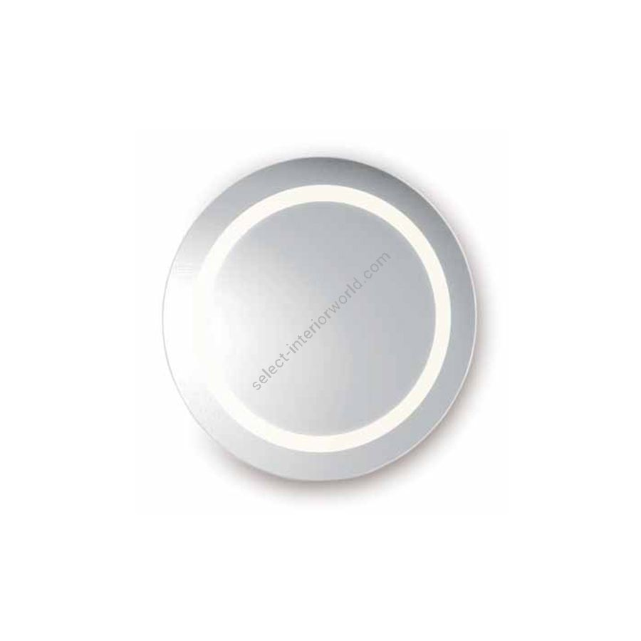 Mirror with LED lighted