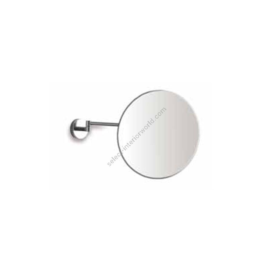 Magnifying mirror / Chrome finish / One swinging arm