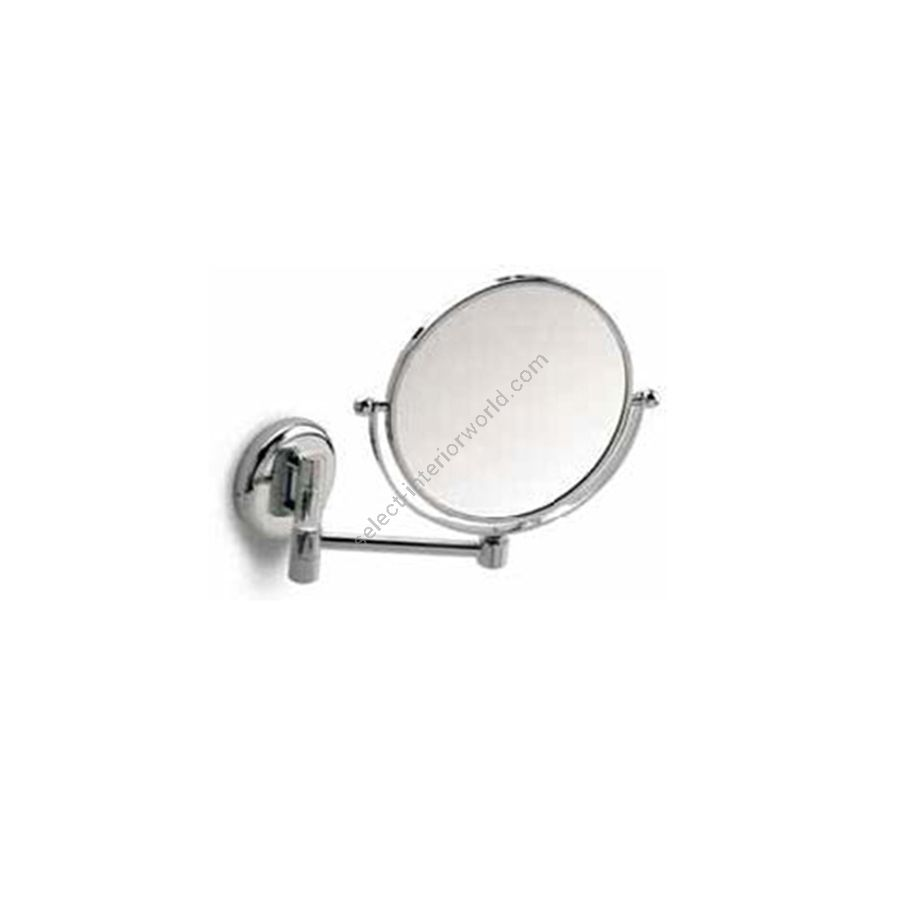"""Double face magnifying mirror / With doubleswinging arm (depth max 33cm / 13"""")"""