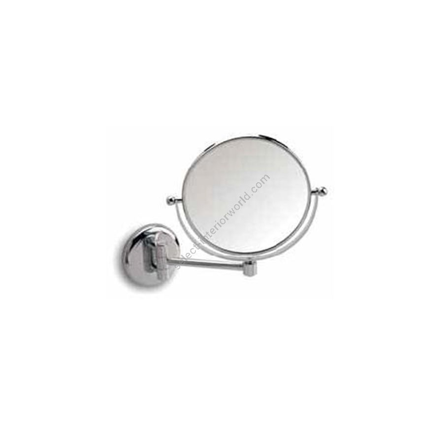 """Double face magnifying mirror / Withswinging arm (depth max 19 cm / 7.5"""")"""