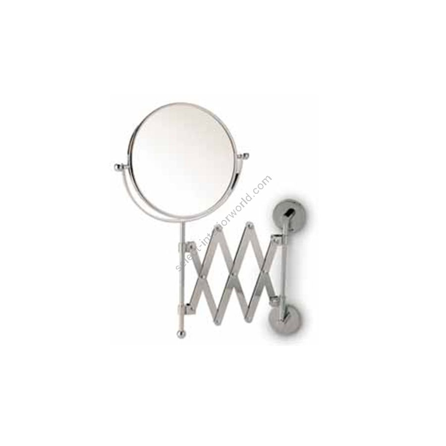 Double face magnifying mirror  / Chrome finish