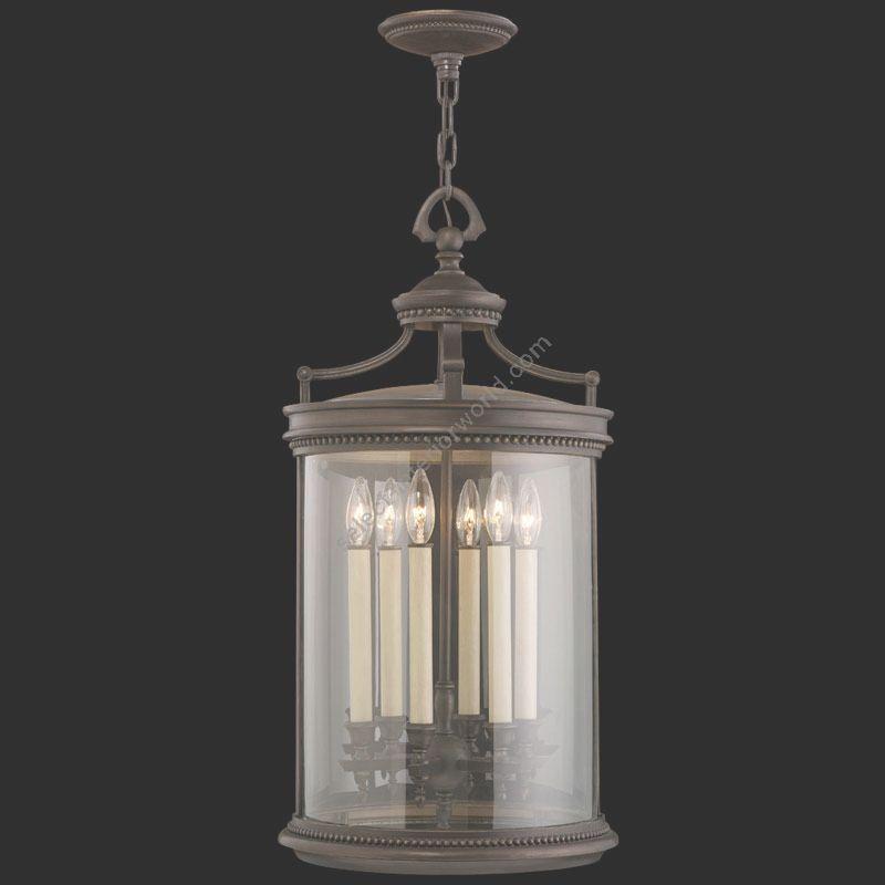 "6 lights (cm.: H 76 x W 38 / inch.: H 30"" x W 15"")"