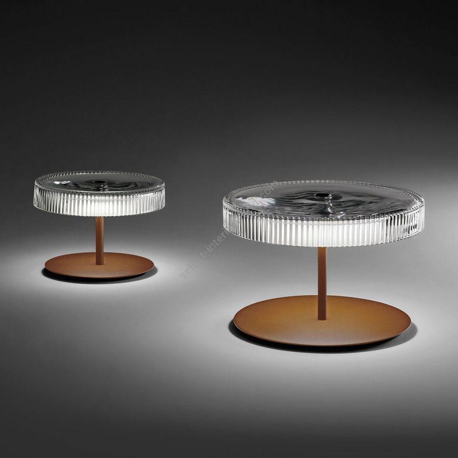 Table lamp / Corten finish