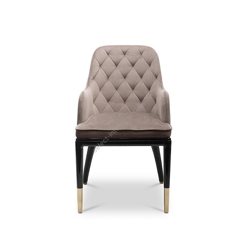 Brushed brass finish & Utopian fr colour 7 upholstery
