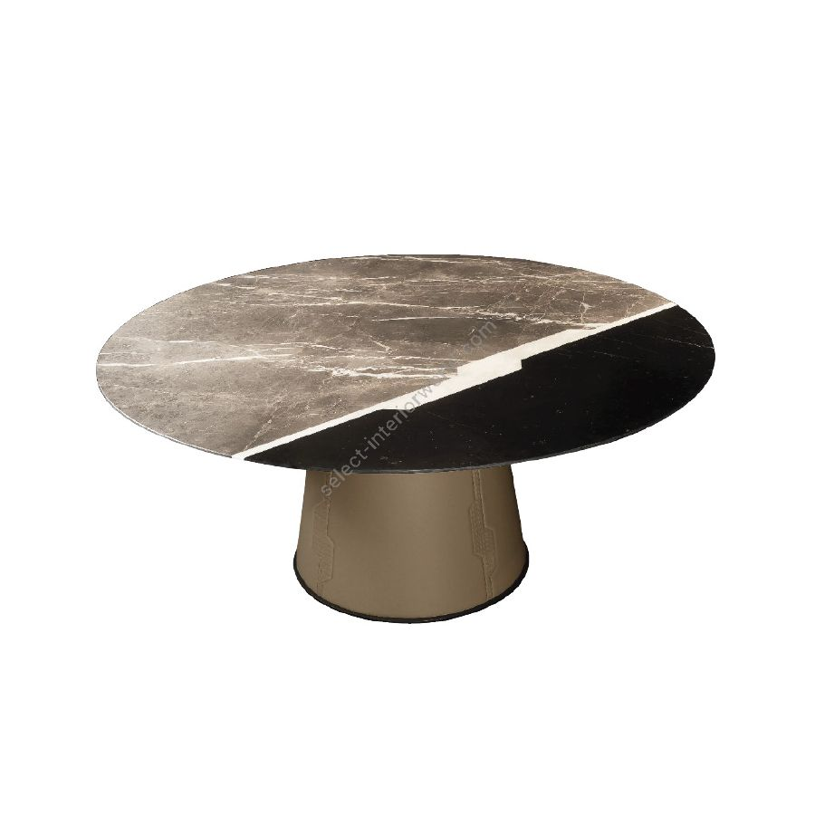 Dining table / Marble top /Without integrated lazy susan