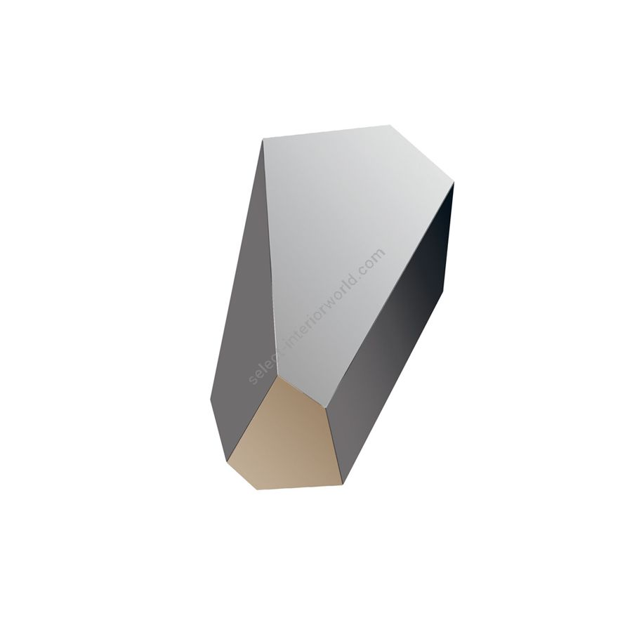 """Mirror / Lacquered MDF structure / cm.: 110 x 63 x 3 / inch.: 43.3"""" x 24.8"""" x 1.2"""""""
