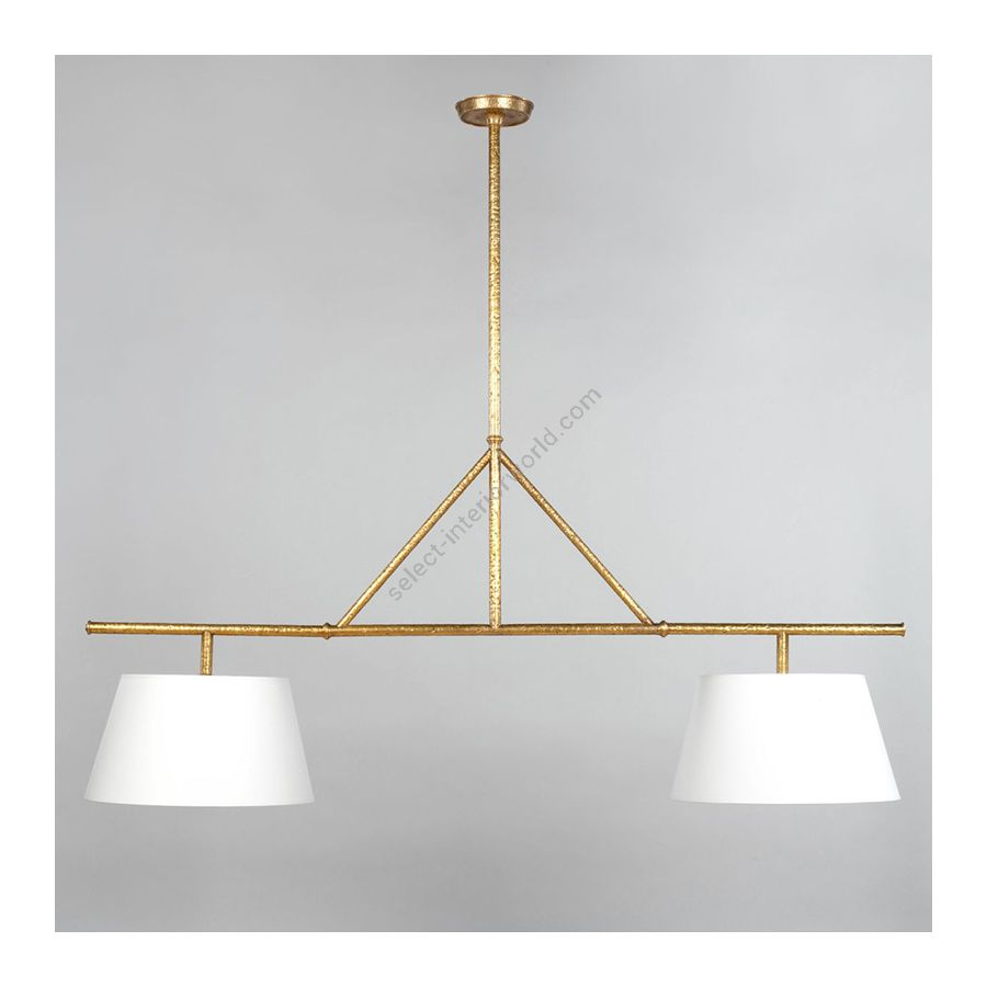 Kitchen Light / Brass finish / Lily colour, material linen
