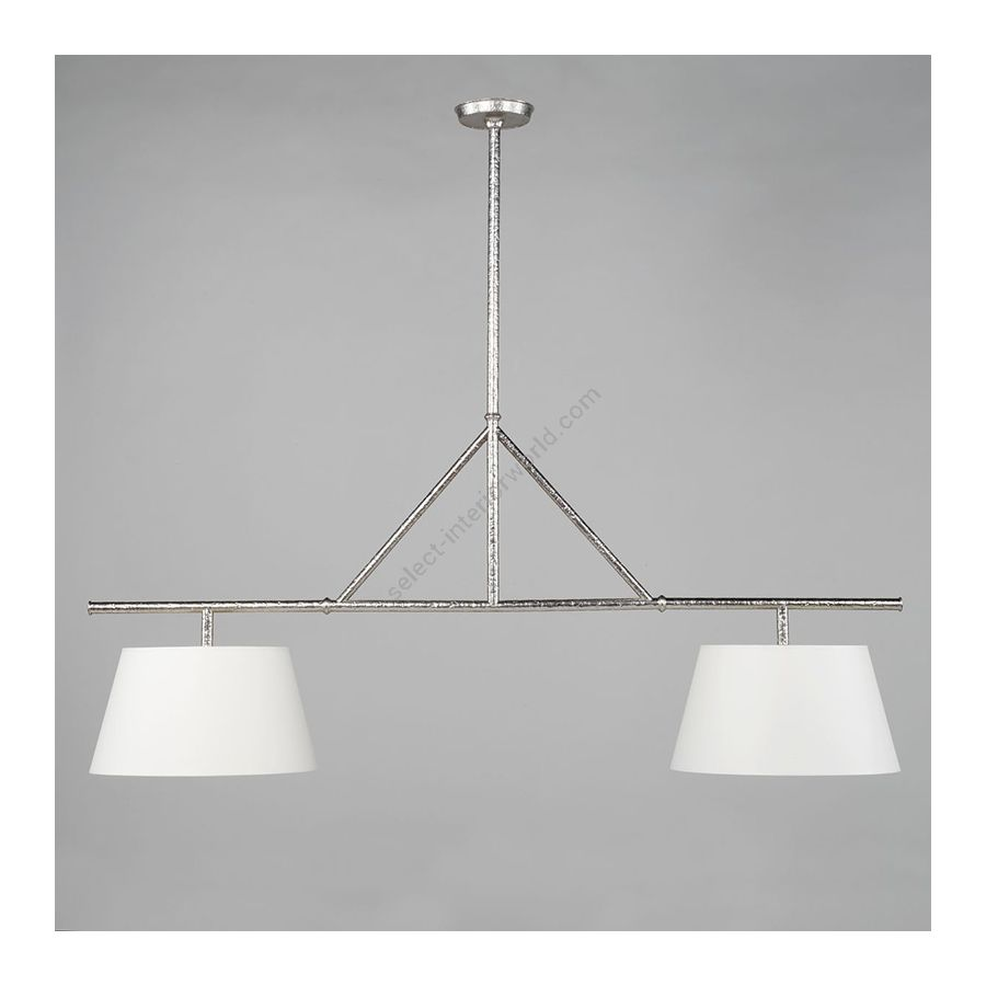 Kitchen Light / Nickel finish / Lily colour, material linen