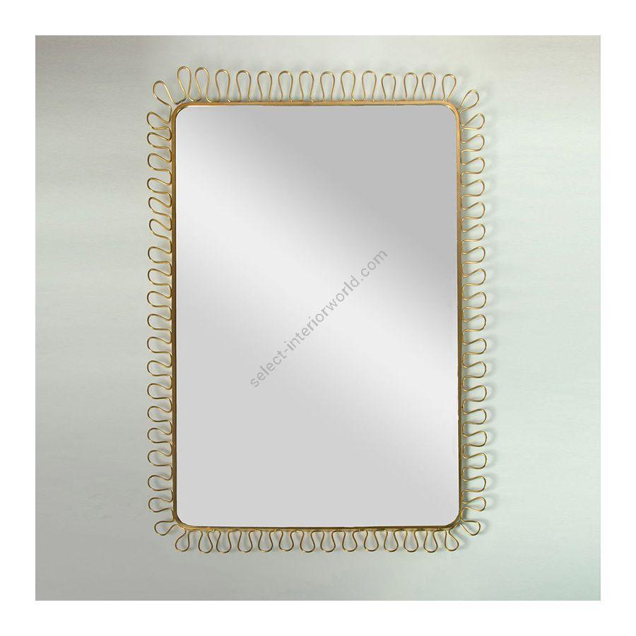 Mirror / Brass finish