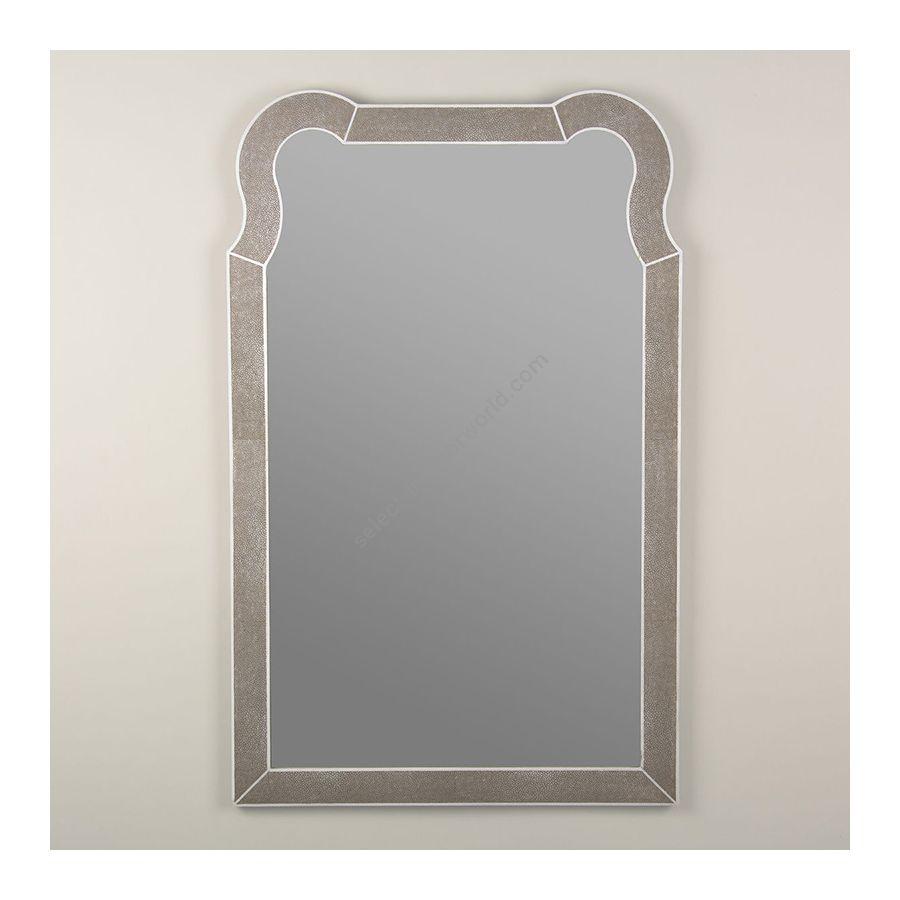 Mirror / Taupe Shagreen finish