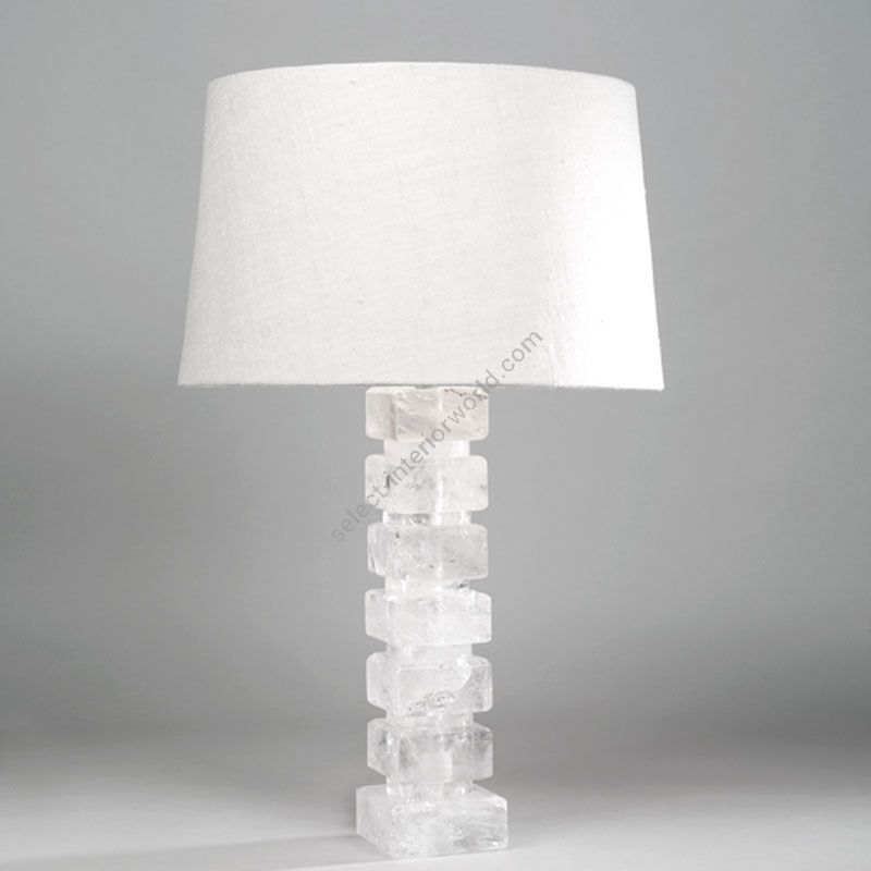 Lampshade: colour - Ivory ; material - Linen