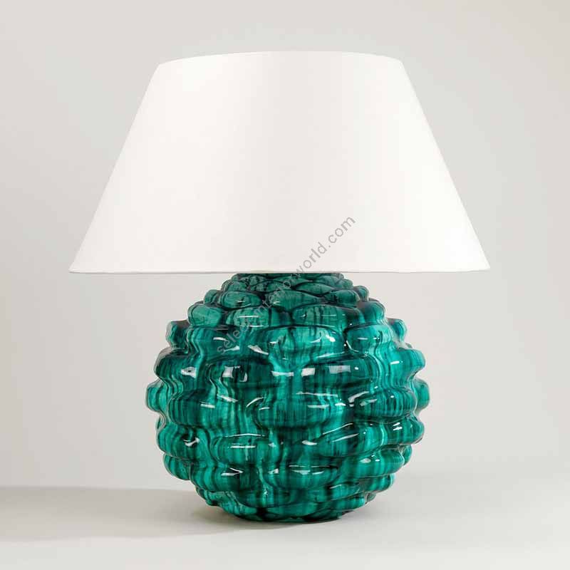 Lampshade: colour - Lily ; material - Linen