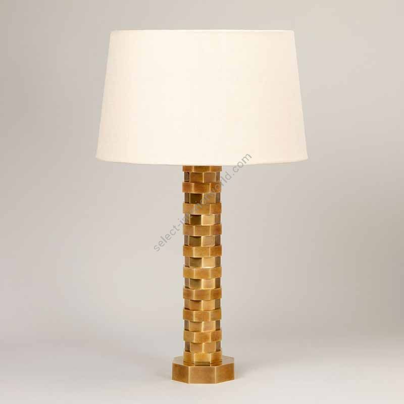 Lampshade: colour - Natural , material - Linen