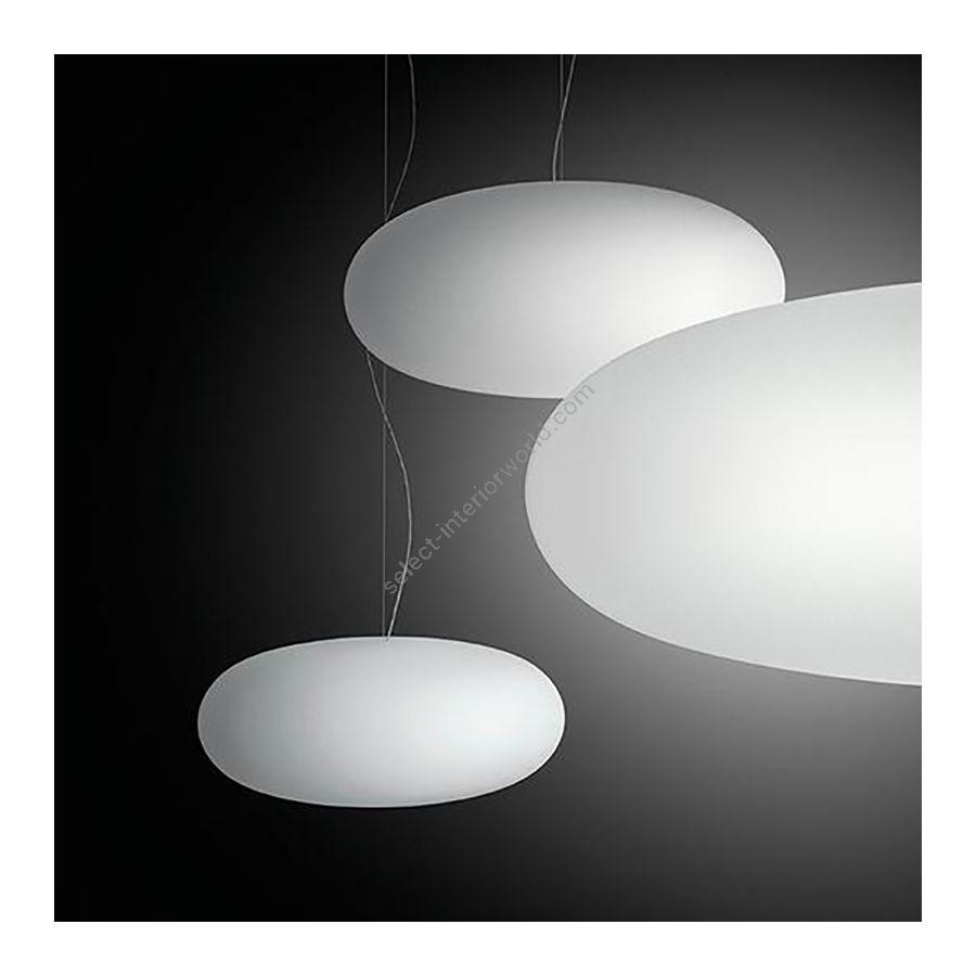 Pendant lamp / White finish
