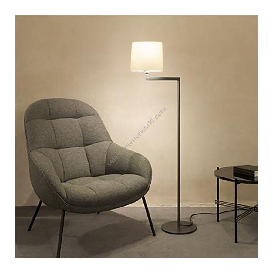 Floor lamp / Graphite finish