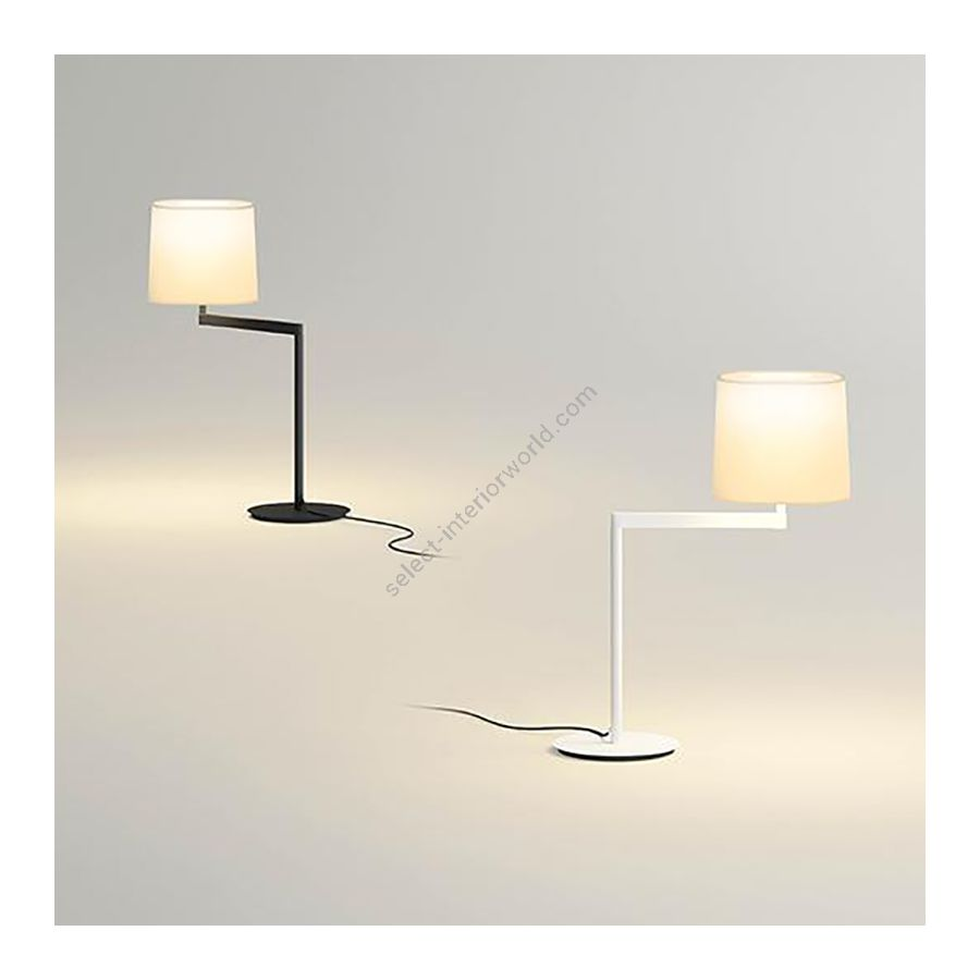 Table lamp / Graphite and White finishes