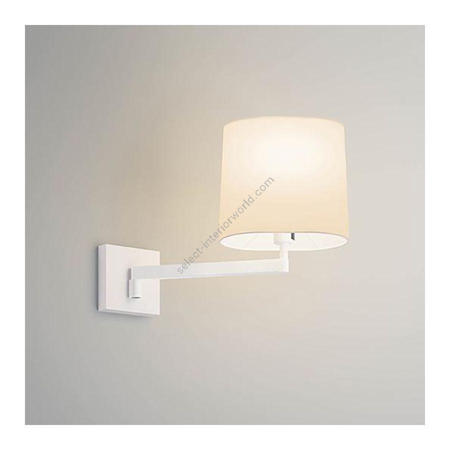 Wall lamp / White finish