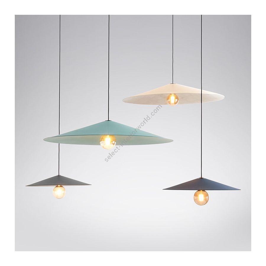 Suspension lamp / Iron metal