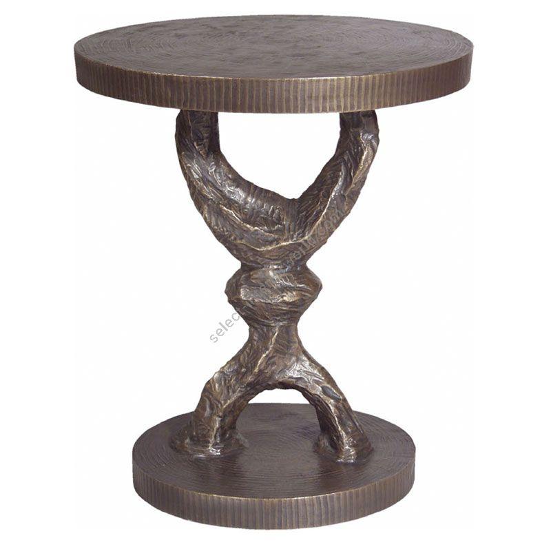 Corbin Bronze / Side table / Crescent T2041
