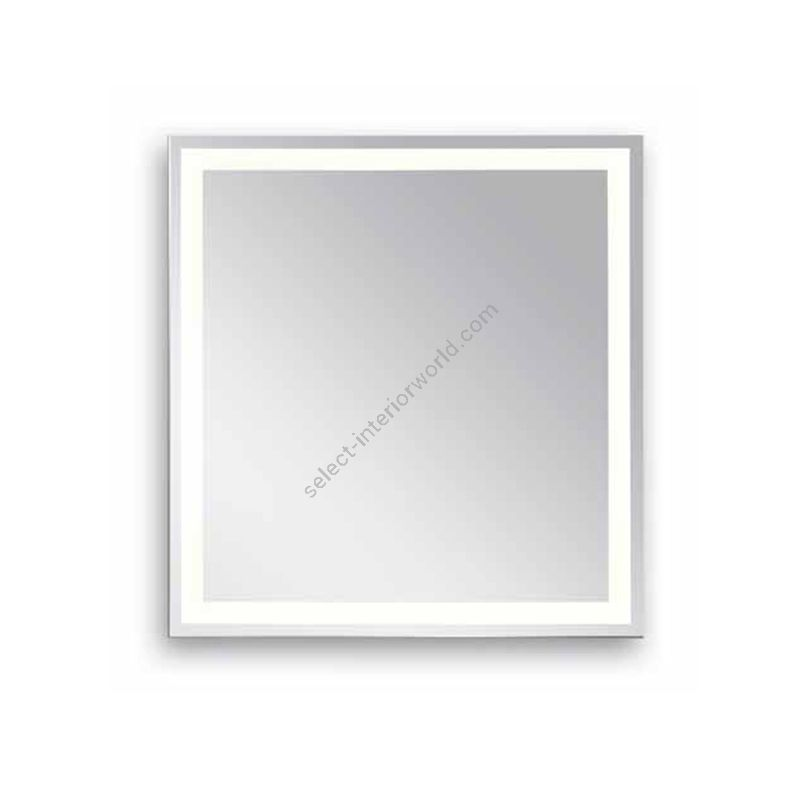 Estro / Square mirror with LED lighted / Alabaster R748