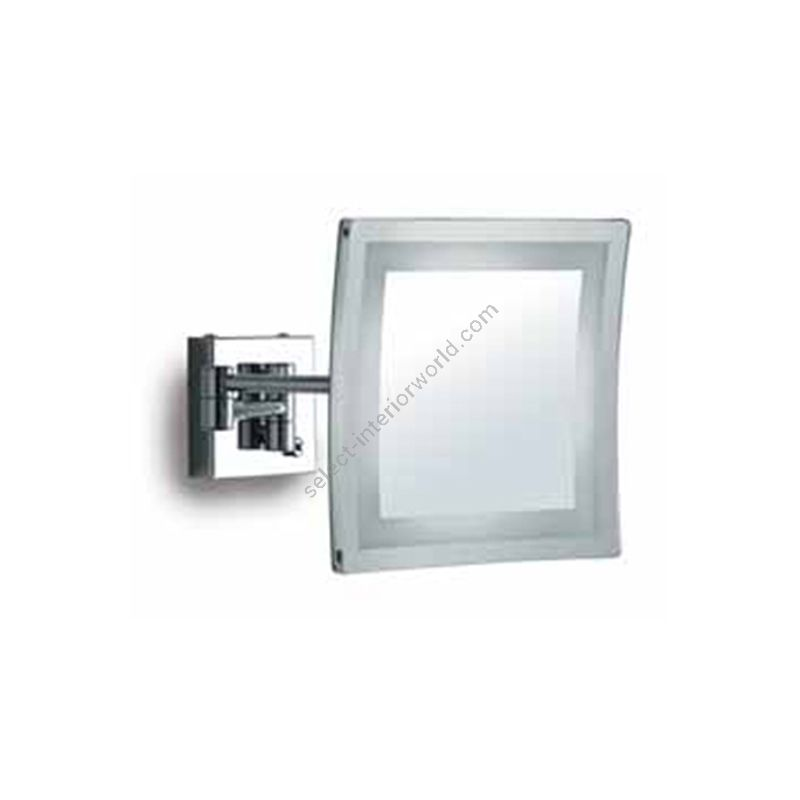Estro / Magnifying mirror with LED lighting / Tourquoise R716