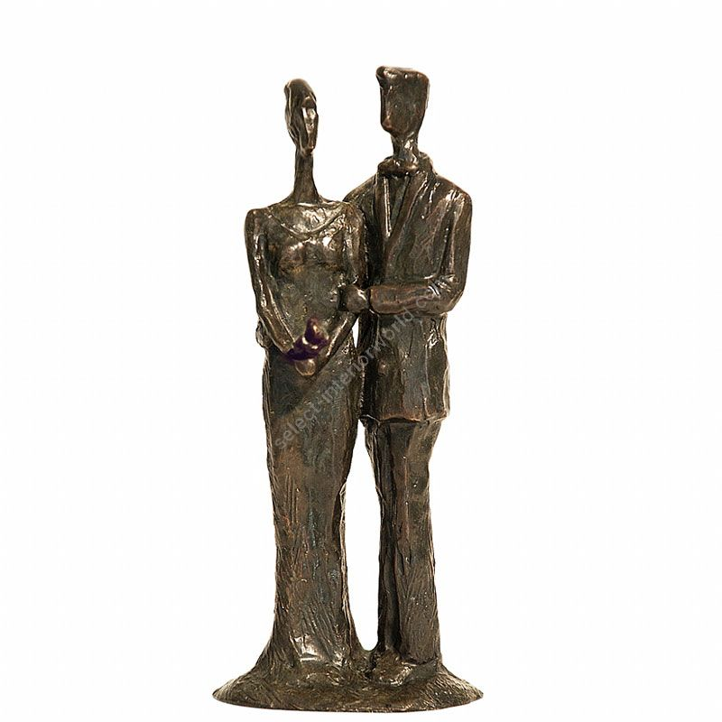 Tom Corbin / Author's sculpture / Bride and Groom S3515