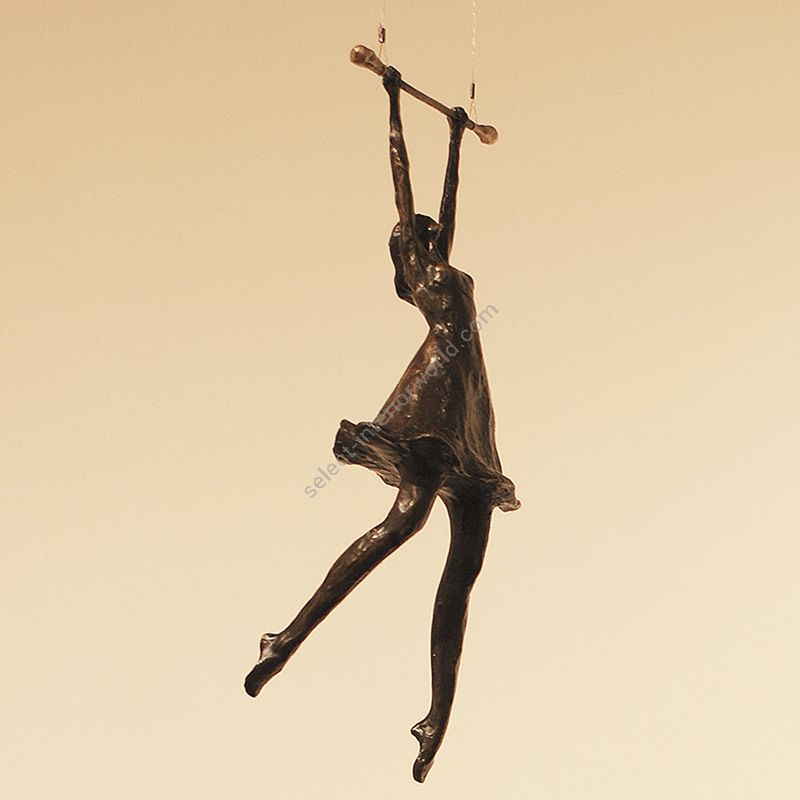 Tom Corbin / Author's sculpture / Girl on Trapeze S2355