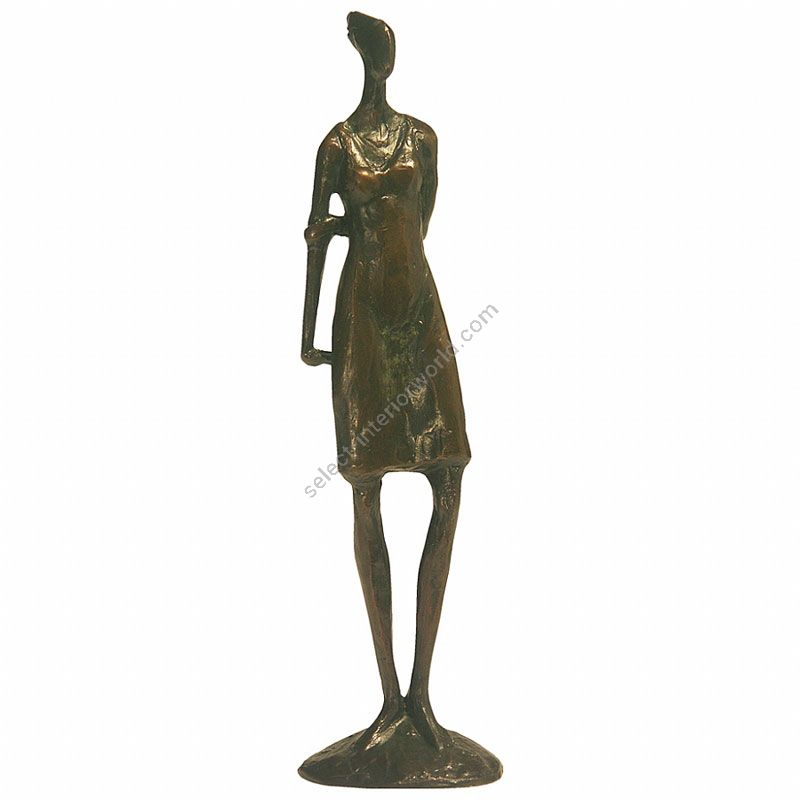 Tom Corbin / Author's sculpture / Girl Waiting SM010