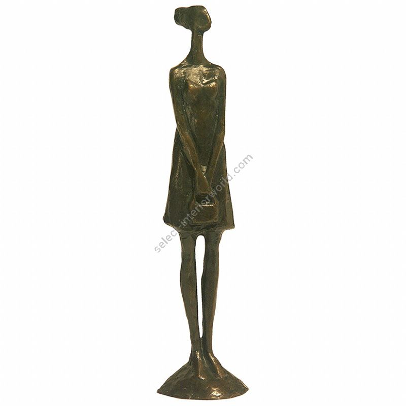 Tom Corbin / Author's sculpture / Girl with Purse II SM011