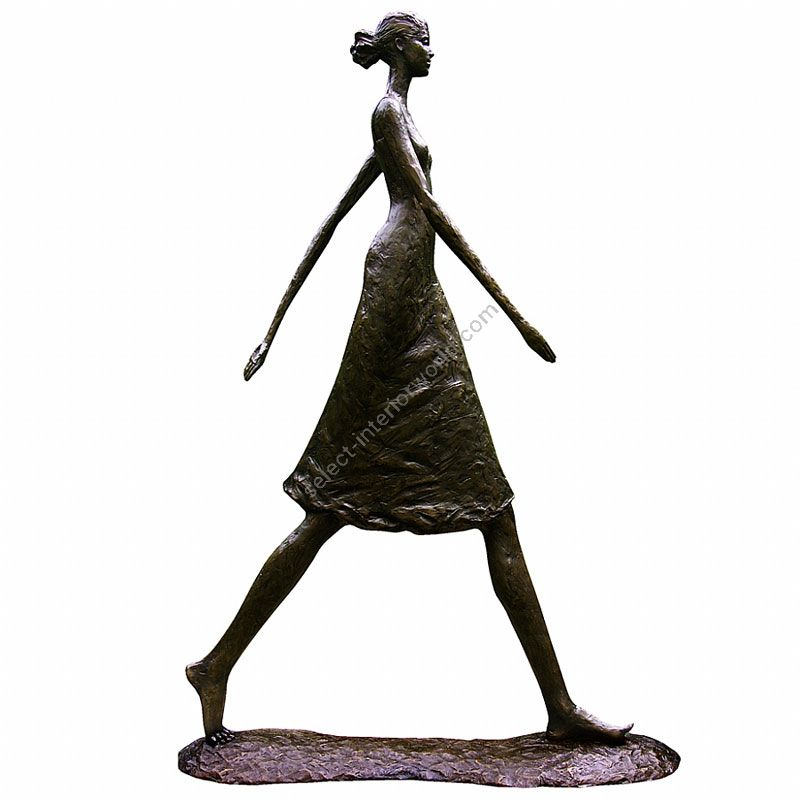Tom Corbin / Author's sculpture / Woman Walking Tall S1023