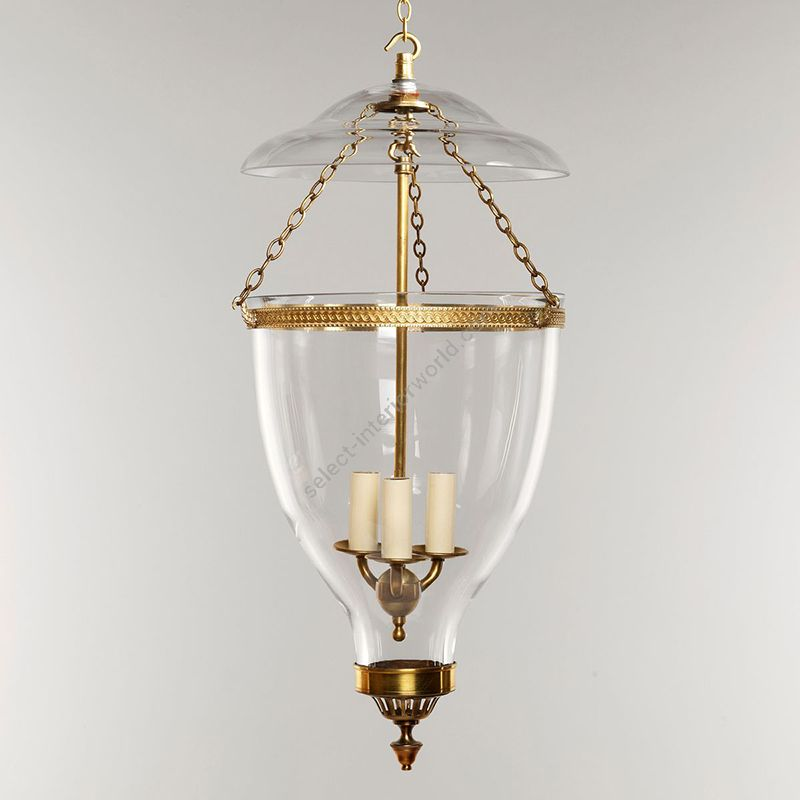 Vaughan / Globe Lantern LED / Adam Hall CL0031.BR & CL0031.BZ