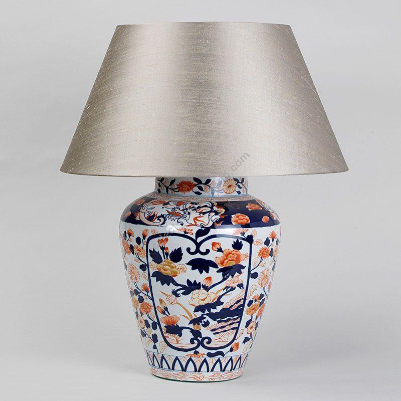 Vaughan / Table Lamp / Red and Blue Imari Vase TC0085