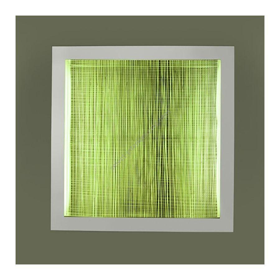 """1 light (cm.: 10 x 100 x 100 / inch.: 3.9"""" x 39.4"""" x 39.4"""") / 90W + 80W(RGB) / 3200lm"""