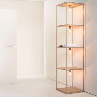Zava / BOX / Bookcase-lamp