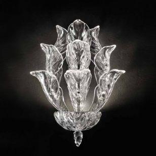 Glass & Glass Murano / Wall LED lamp / Fresco ART. 998