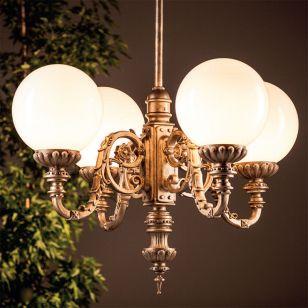Robers / Outdoor 4-lighter Suspension Lamp / HL 2639