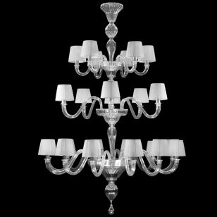Multiforme / Chapeau DP0360-12+6+6-CD1 / Chandelier