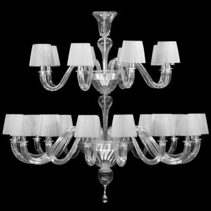 Multiforme / Chapeau DP0360-16+8-CD1 / Chandelier